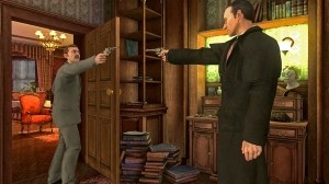 Holmes turns on Watson